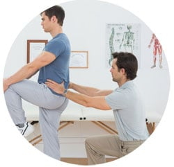 ont i ryggen behandling & symptom